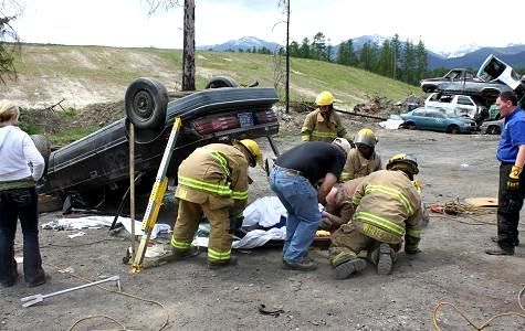Extrication Training Photo