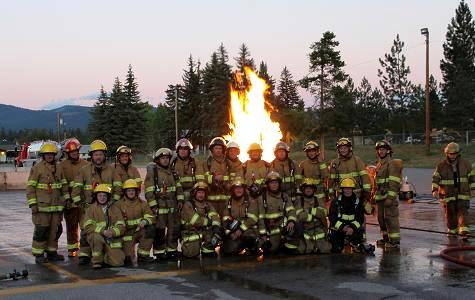 Joint Interagency Propane Fire Training Photo