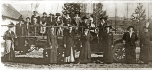1914 Libby Fire Department Womens Auxiliary Photo
